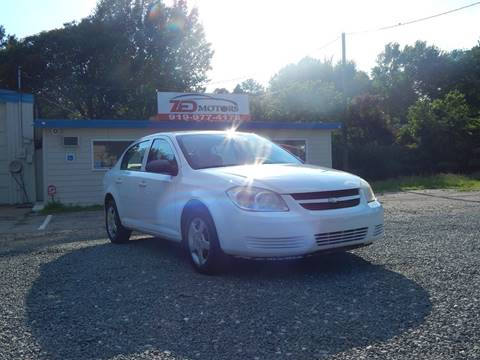2008 Chevrolet Cobalt for sale at Zed Motors in Raleigh NC
