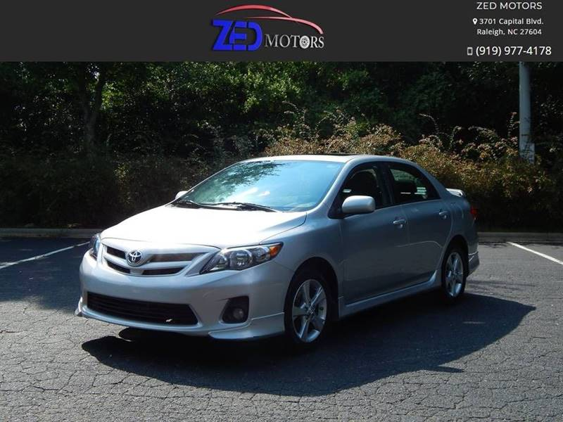 2011 Toyota Corolla for sale at Zed Motors in Raleigh NC