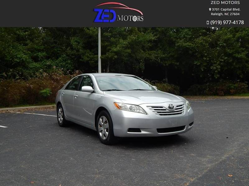 2008 Toyota Camry for sale at Zed Motors in Raleigh NC