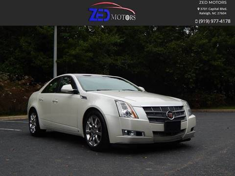 2008 Cadillac CTS for sale at Zed Motors in Raleigh NC