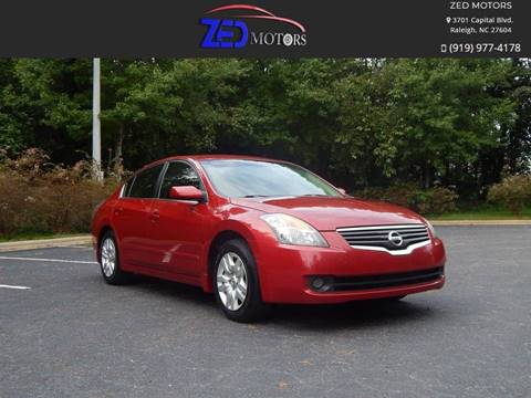 2009 Nissan Altima for sale at Zed Motors in Raleigh NC