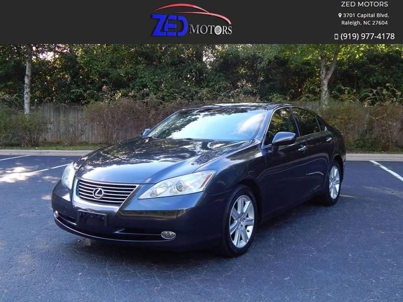 2009 Lexus ES 350 For Sale At Zed Motors In Raleigh NC