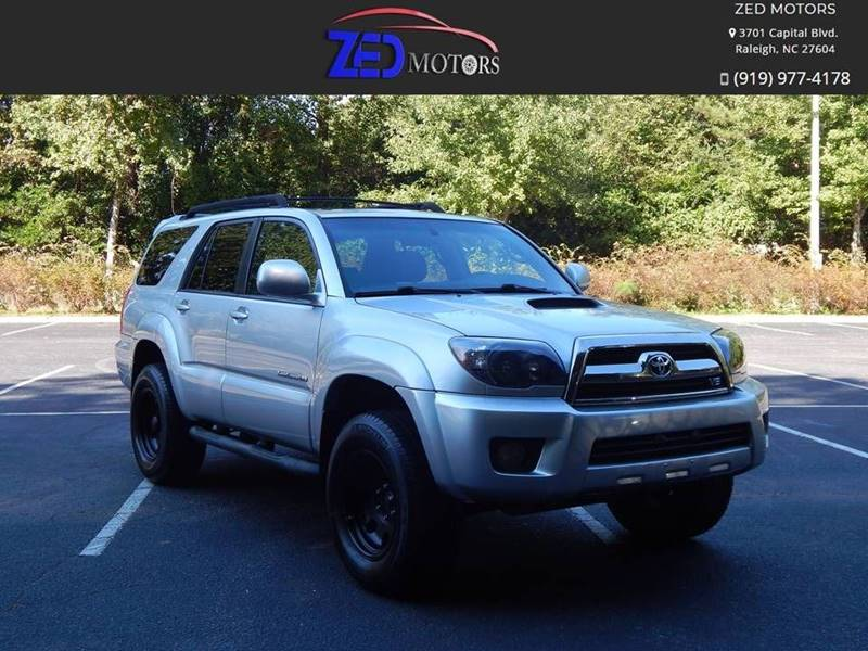 2008 Toyota 4Runner for sale at Zed Motors in Raleigh NC