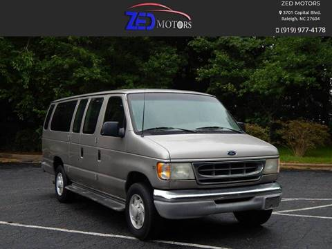 2001 Ford E-Series Wagon for sale in Raleigh, NC