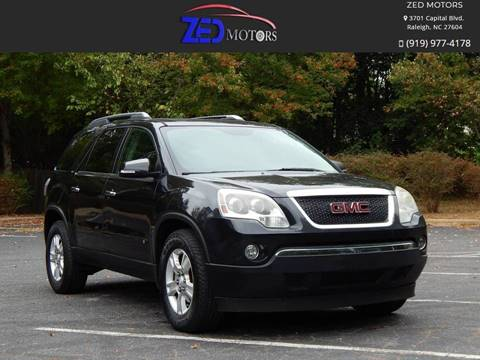 2009 GMC Acadia for sale in Raleigh, NC