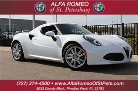 used alfa romeo 4c for sale in florida - carsforsale®