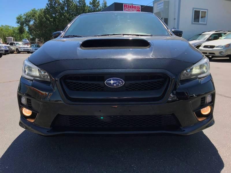 2015 Subaru Wrx Limited In Boise Id Rides Unlimited