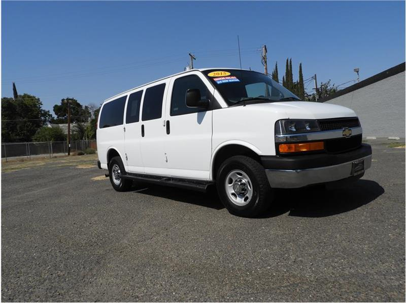 5b0cad9d482f88 2015 Chevrolet Express Passenger for sale at Auto Resources in Merced CA