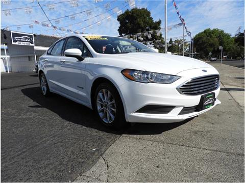 2017 Ford Fusion Hybrid for sale in Merced, CA