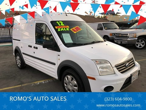 2012 Ford Transit Connect for sale in Los Angeles, CA