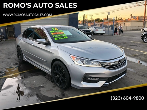 2016 Honda Accord for sale in Los Angeles, CA