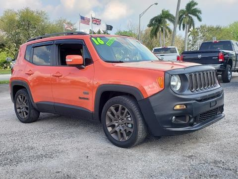 2016 Jeep Renegade for sale in Clewiston, FL