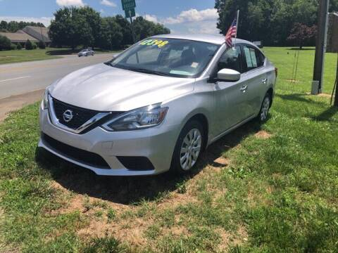 2018 Nissan Sentra for sale at Credit Union Auto Buying Service in Winston Salem NC