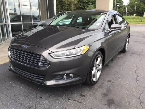 2016 Ford Fusion for sale at Credit Union Auto Buying Service in Winston Salem NC