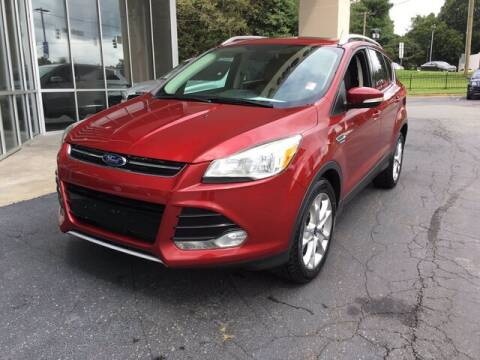 2014 Ford Escape for sale at Credit Union Auto Buying Service in Winston Salem NC
