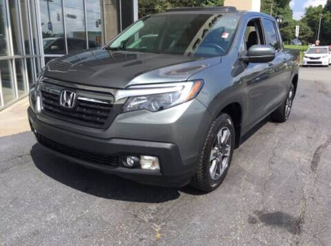 2019 Honda Ridgeline for sale at Credit Union Auto Buying Service in Winston Salem NC