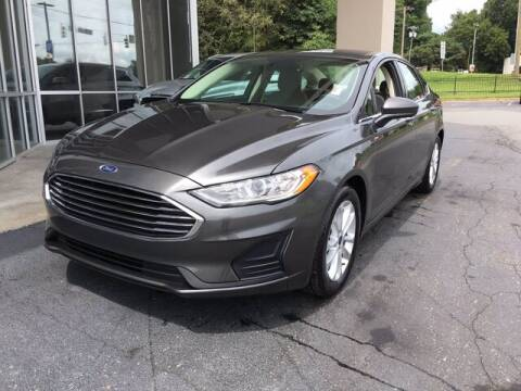 2019 Ford Fusion for sale at Credit Union Auto Buying Service in Winston Salem NC
