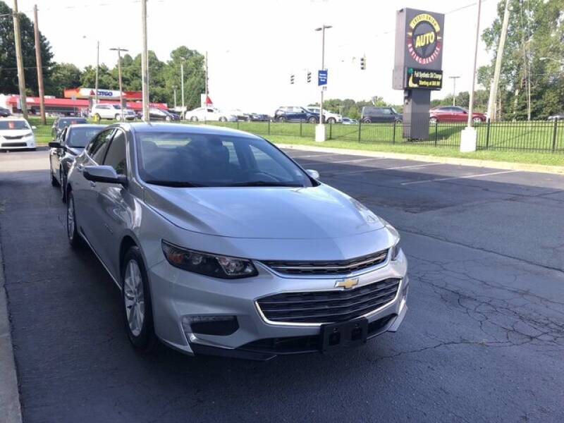 2017 Chevrolet Malibu for sale at Credit Union Auto Buying Service in Winston Salem NC