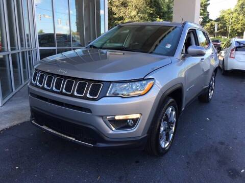 2019 Jeep Compass for sale at Credit Union Auto Buying Service in Winston Salem NC
