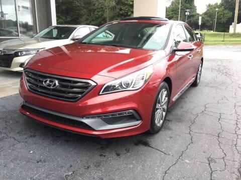 2016 Hyundai Sonata for sale at Credit Union Auto Buying Service in Winston Salem NC