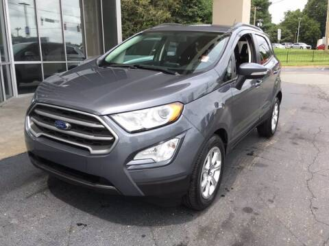 2018 Ford EcoSport for sale at Credit Union Auto Buying Service in Winston Salem NC