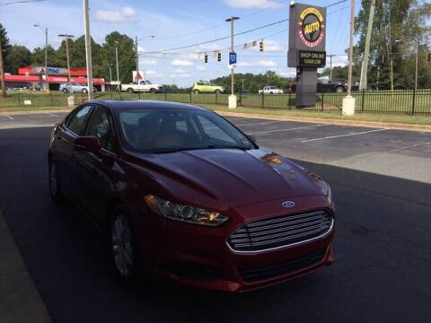 2015 Ford Fusion for sale at Credit Union Auto Buying Service in Winston Salem NC