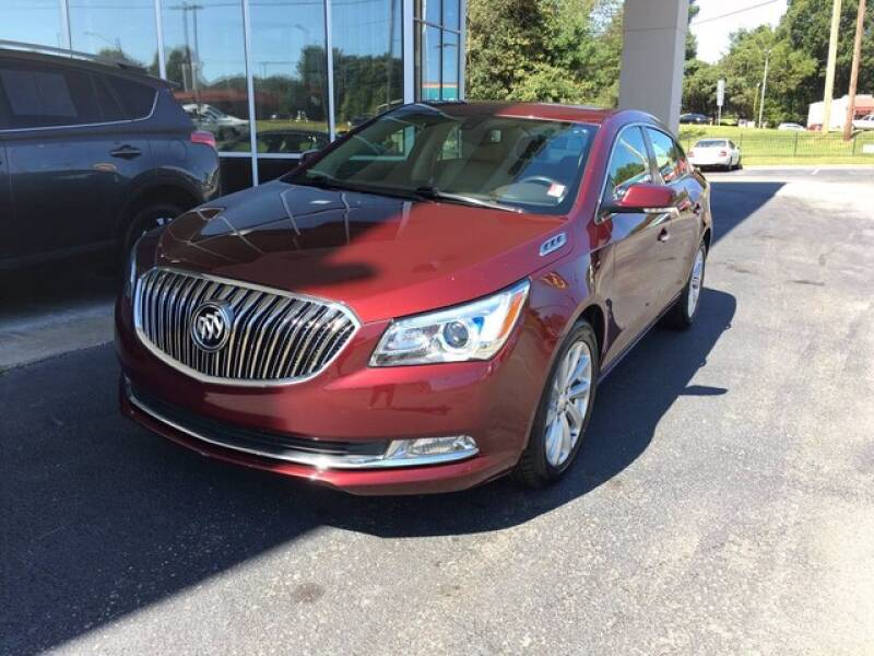 2016 Buick LaCrosse for sale at Credit Union Auto Buying Service in Winston Salem NC
