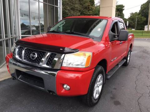 2011 Nissan Titan for sale at Credit Union Auto Buying Service in Winston Salem NC