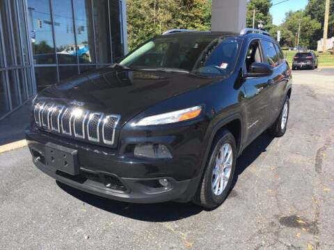 2018 Jeep Cherokee for sale at Credit Union Auto Buying Service in Winston Salem NC