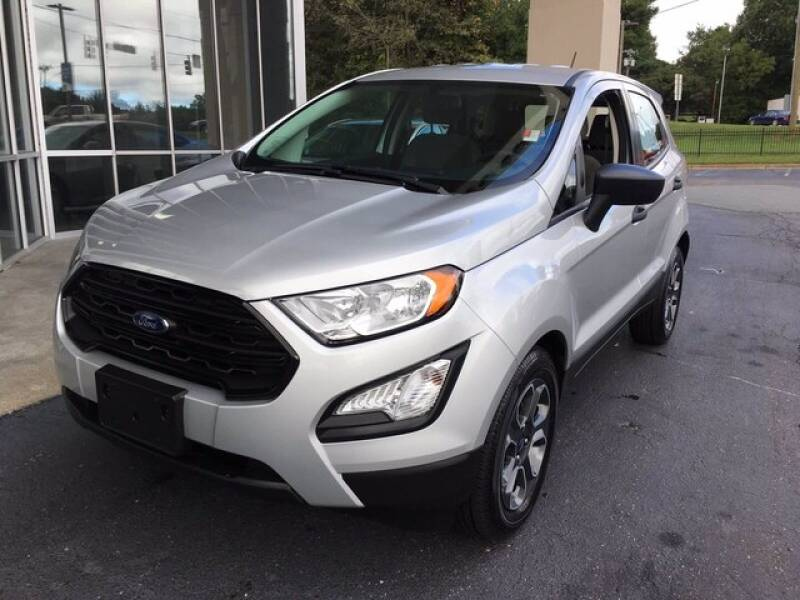 2020 Ford EcoSport for sale at Credit Union Auto Buying Service in Winston Salem NC
