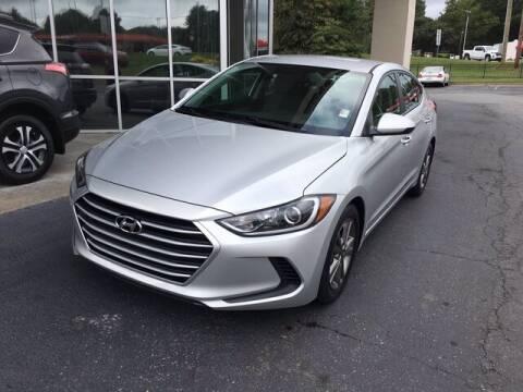 2018 Hyundai Elantra for sale at Credit Union Auto Buying Service in Winston Salem NC