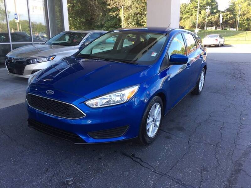 2018 Ford Focus for sale at Credit Union Auto Buying Service in Winston Salem NC