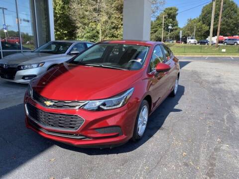 2017 Chevrolet Cruze for sale at Credit Union Auto Buying Service in Winston Salem NC
