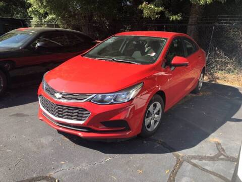 2018 Chevrolet Cruze for sale at Credit Union Auto Buying Service in Winston Salem NC
