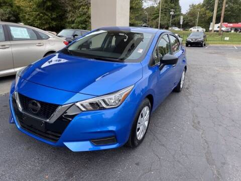 2020 Nissan Versa for sale at Credit Union Auto Buying Service in Winston Salem NC