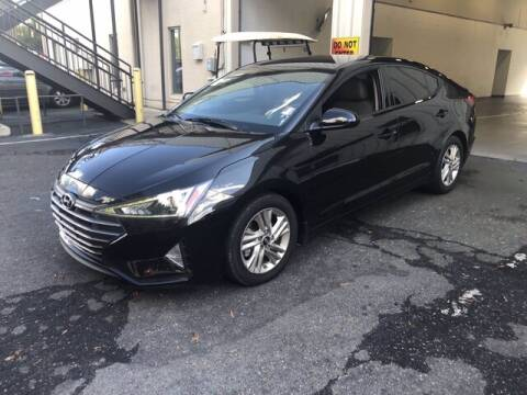 2019 Hyundai Elantra for sale at Credit Union Auto Buying Service in Winston Salem NC