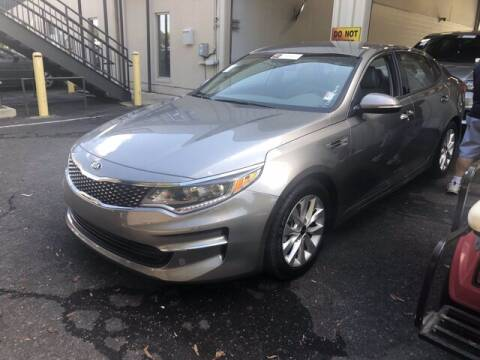 2018 Kia Optima for sale at Credit Union Auto Buying Service in Winston Salem NC