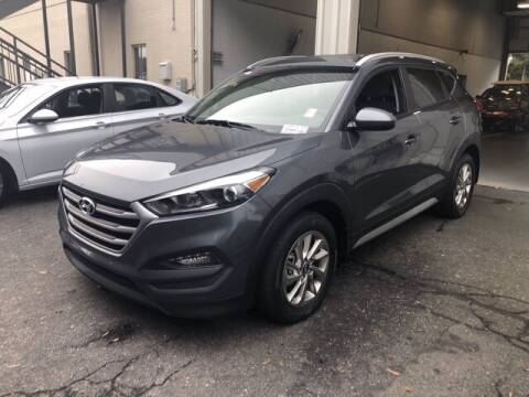 2017 Hyundai Tucson for sale at Credit Union Auto Buying Service in Winston Salem NC