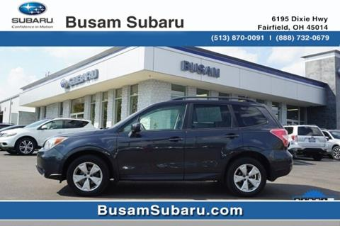 2015 Subaru Forester for sale in Fairfield, OH