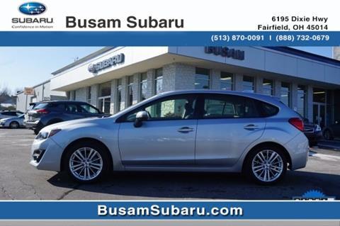 2016 Subaru Impreza for sale in Fairfield, OH