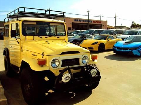 1975 Toyota FJ Cruiser for sale at Fastrack Auto Inc in Rosemead CA