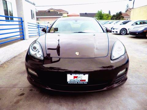 2011 Porsche Panamera for sale at Fastrack Auto Inc in Rosemead CA