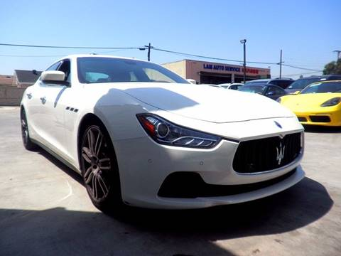 2014 Maserati Ghibli for sale at Fastrack Auto Inc in Rosemead CA
