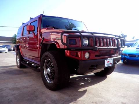 2003 HUMMER H2 for sale at Fastrack Auto Inc in Rosemead CA