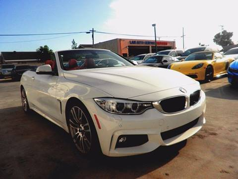 2015 BMW 4 Series for sale at Fastrack Auto Inc in Rosemead CA