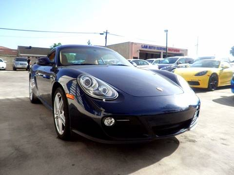 2011 Porsche Cayman for sale at Fastrack Auto Inc in Rosemead CA