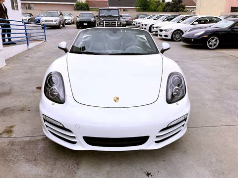 2013 Porsche Boxster for sale at Fastrack Auto Inc in Rosemead CA