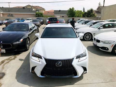 2016 Lexus GS 350 for sale at Fastrack Auto Inc in Rosemead CA