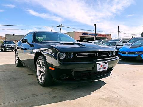 2017 Dodge Challenger for sale at Fastrack Auto Inc in Rosemead CA