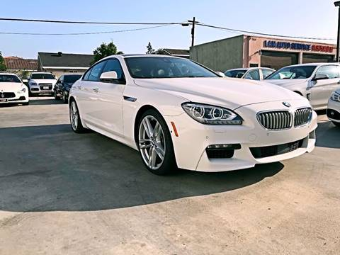 2014 BMW 6 Series for sale at Fastrack Auto Inc in Rosemead CA